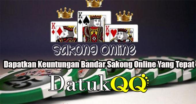 Tips Dapatkan Keuntungan Bandar Sakong Online Yang Tepat